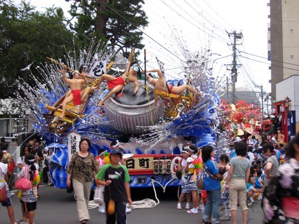 八戸三社大祭 2008 中日 1