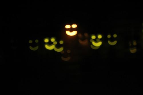 smiling faces [ diy custom bokeh ]