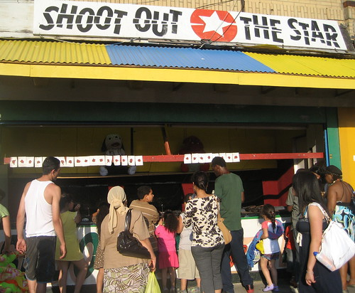 Coney ISland's Shoot out the Star, July 2008. Photo © Tricia Vita/me-myself-i via flickr