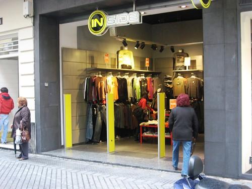 Tienda Inside. Derroche Energetico sin puertas en mes de Diciembre en Córdoba.
