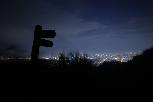 Qixingshan by night
