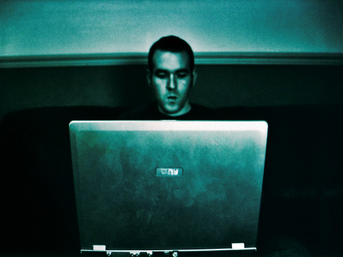 Hanny on his laptop_MMVIII (by andronicusmax)