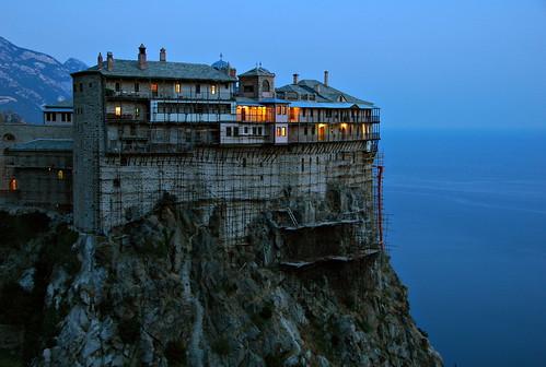 A Remote Monastery.