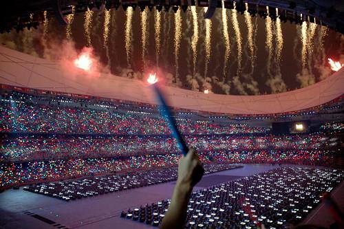 Il giorno dellapertura dei Giochi Olimpici a Pechino