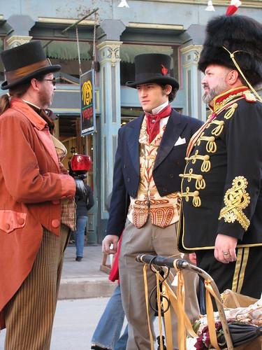 DOTS 08 - Three Handsome Gentlemen