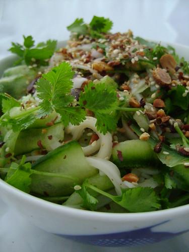 Cucumber and Coriander Salad