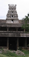 Rajagopuram on the temple wall - northern side