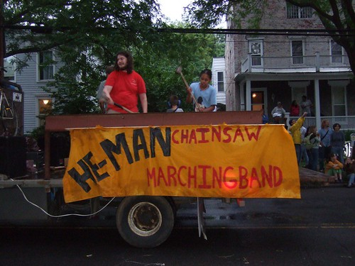 He-Man Chainsaw Marching Band