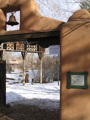 Welcome To Mabels, Taos, New Mexico, February 2007, photo © 2007-2009 by QuoinMonkey. All rights reserved.