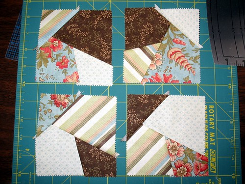 One set of the Crazy Quilt Squares
