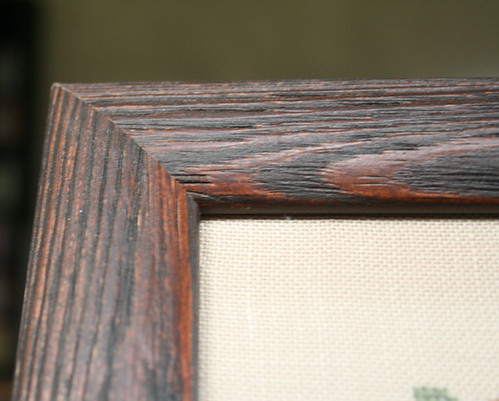 Close up of the frame