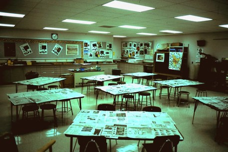 Point Elementary School Art Room