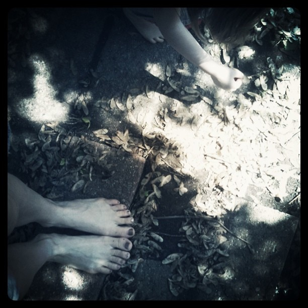we love being barefoot