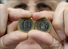 Spanish shopkeeper finds Homer Simpson euro