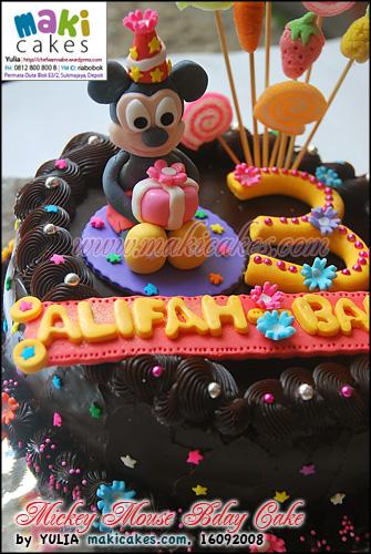 Mickey Mouse TCCC_ - Maki Cakes