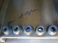 Water tube holes