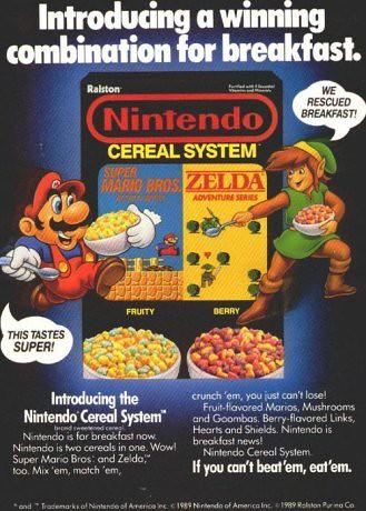 Nintendo Cereal