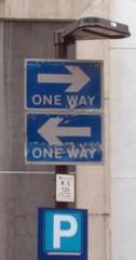 """one way"" one-way oneway twoway two-..."