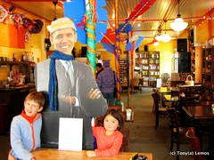 Obama at Elmer's in Ashfield, MA