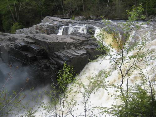 The Ste Anne falls