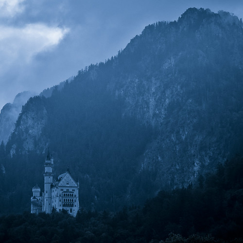 A castle in the mountains