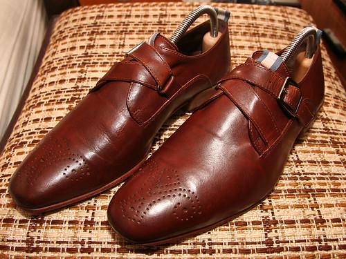 Schoenen schoon