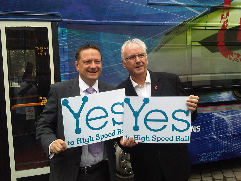 Yes to High Speed Rail