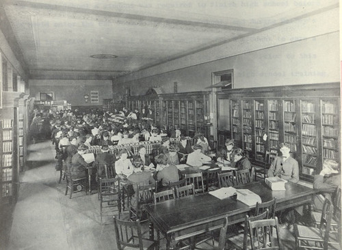 Library at the San Jose Normal School