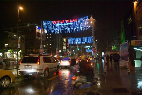 new year events, Bagdat Avenue, Kadikoy , Bagdat Caddesi, pentax k10d