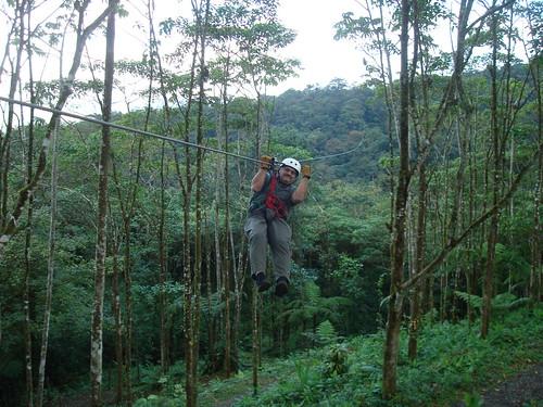 Costa Rica - Mark Canopy Rides