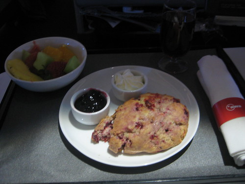 World Business Class Breakfast