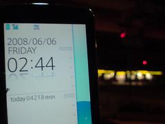 F906i pedometer