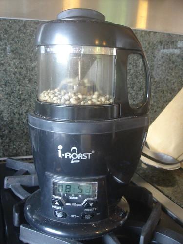 家�用烘咖啡豆的機器 2