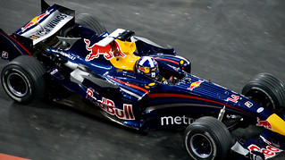 David Coulthard Red Bull Racing F1