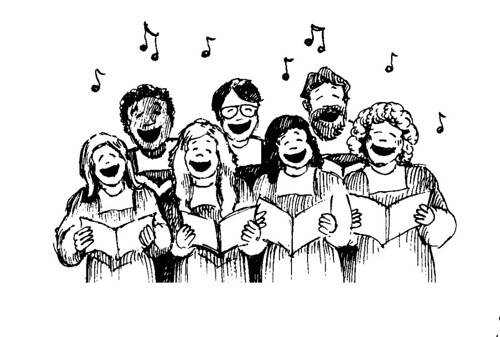 choir cartoon