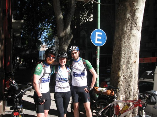 Simon, Marina and Fearghal, Buenos Aires