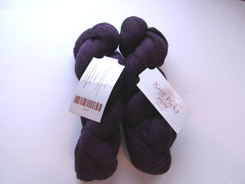 knitpicks shadow vineyard heather laceweight