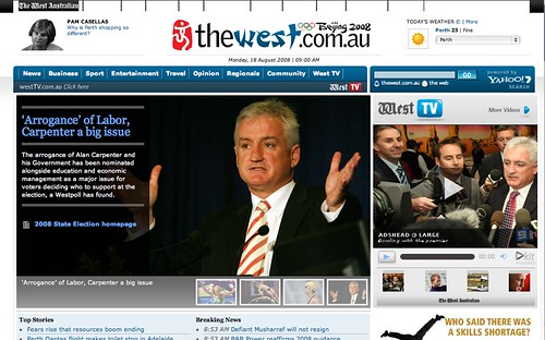 The West Homepage