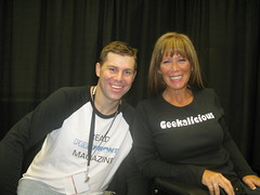 Missy Ward and Shawn Collins at BlogWorld 2008
