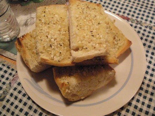 Finished Garlic Bread