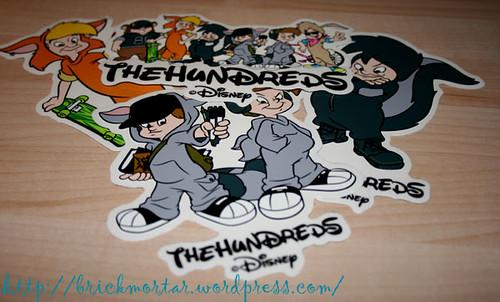 hundreds x disney stickers
