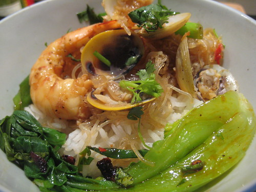 Cantonese Style Spicy Clam Vermicelli Noodles