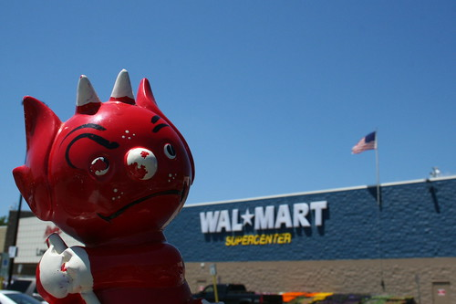 Image result for walmart the devil