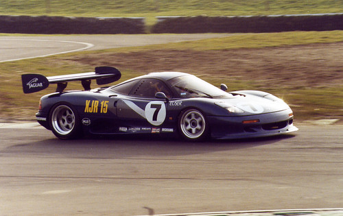 Jaguar XJR-15 in action