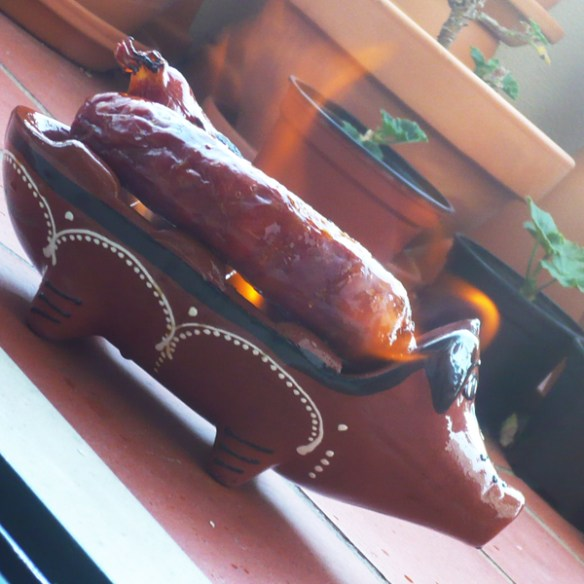 #17 - Eating chorizo