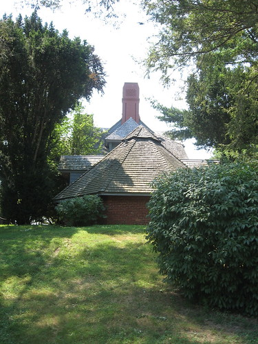 Ice House & Roof Line - Sagamore Hill