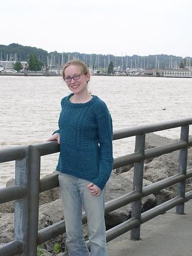 Gansey, at the lake