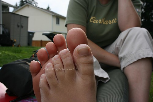 7 year old feet