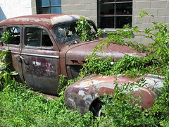 The other rusty old car