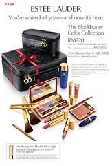 Estee Lauder The Blockbuster Colour Collection 2008